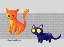 "Cats with ""K"" Names by liz-neko"