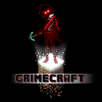 Grimecraft Logo by Tetchist