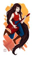 Marceline the Vampire Queen by Eliket