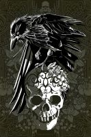 NEVERMORE. by thedarkinker