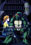 Raph and April by RadioJane