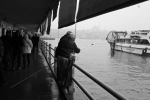 Urban fishermen by Philxxx