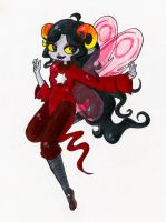 Godtier Aradia by ScreamingLullabies