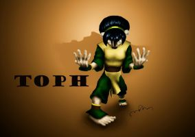 Toph by dragonmjos