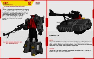 DYNOBOT SNIPE by F-for-feasant-design