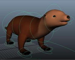 3D Otter Rig by hollywood714