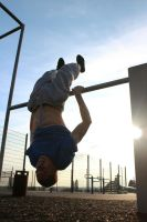 David - Inverted Muscle Up I by Zade-uk