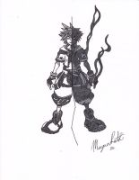 Sora and Anti Sora by mtr0623