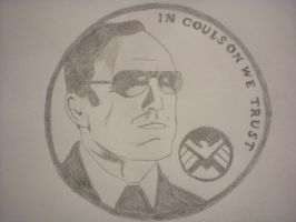 Agent Coulson by nastyd13