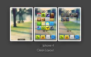 Iphone 4 Clean by donnie1992