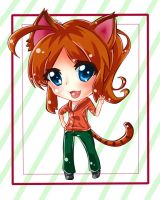 Request for KatieKreative: Chibi Deviant ID by XxPhantomRiderxX