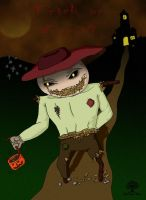 Trick or Treat: Scarecrow by theworldiveknown