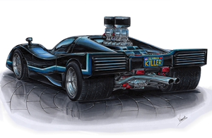 Manta Mirage Street Racer by vsdesign69