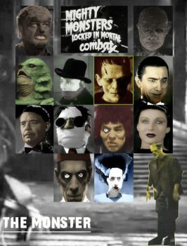 Universal Monsters Game by KrabScrambly