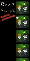 Ron And Harry's Adventures by TrebleChibi