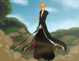 Lets get started, Aizen by Molyneux93