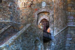 Red Castle by stock-pics-textures