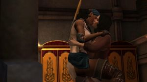 Isabela and Bethany Kissing by Revan654