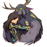 moonkin hug color by hisako