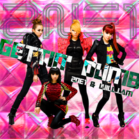 2NE1+Will.I.Am: Gettin' Dumb by Awesmatasticaly-Cool