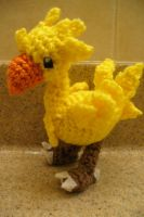 Chocobo (Pattern link) by Phantasmfreud