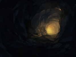 tunnel by feeshseagullmine