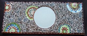 2nd tempered glass mirror by Manicmosaics