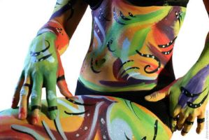 Body Art - 2 by Anne-Marie-Noble-Art