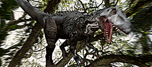 MMD Newcomer Indominus Rex + DL by Valforwing