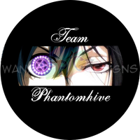 TeamPhantomhiveButton by anotherclichejrocker