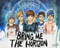 Bring Me The Horizon by Kagoe