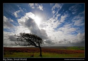 Big Skies, Small World by Andrew-and-Seven
