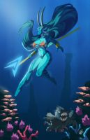 Water Demoness by Zelmarr