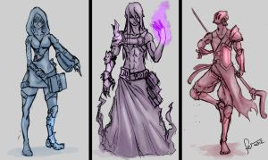 Concepts: Wizards by Fenris31