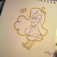 GF- Mabel's new sweater by AlinaCat923