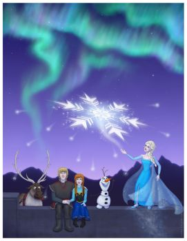 Frozen - The Sky's Awake by Loony-Lucy