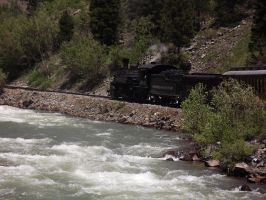 486 in the Animas Canyon by metalheadrailfan