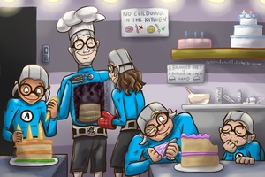 Robot Cakes by Nintendo-Nut1