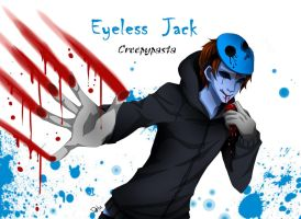 Eyeless Jack by DeluCat