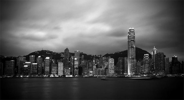 Victoria Harbour by tyt2000