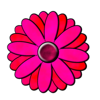 Pink Daisy Stock by venicet