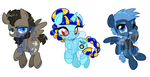Discord Whooves Cast Shrinkies by BaldDumboRat