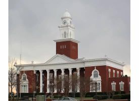 The Lee County Courthouse by Rjet33