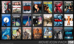 Movie Icon Pack 158 by FirstLine1