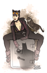 Catwoman by gregbo