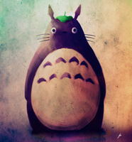 Totoro by chadlindall