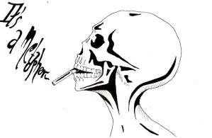 'It's a metaphor' by Carlines