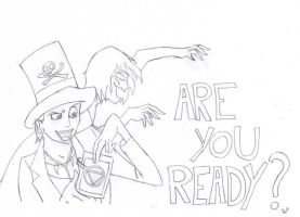 Are you ready? by CioccocremolatoWonka