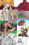 Weekly Sketch Dump August 22-28 2016 by TouchedVenus