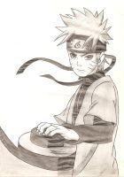Naruto Sage Mode by DranzertheEternal